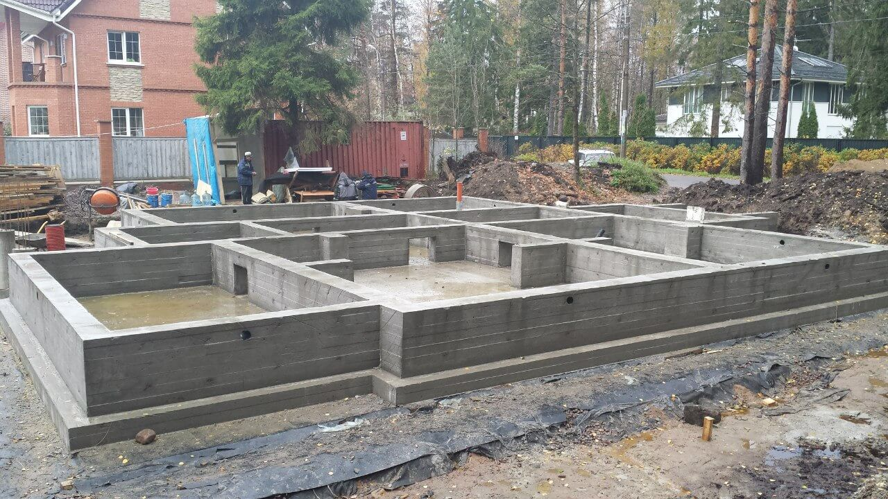 Поэтапная заливка бетона доставка бетона область
